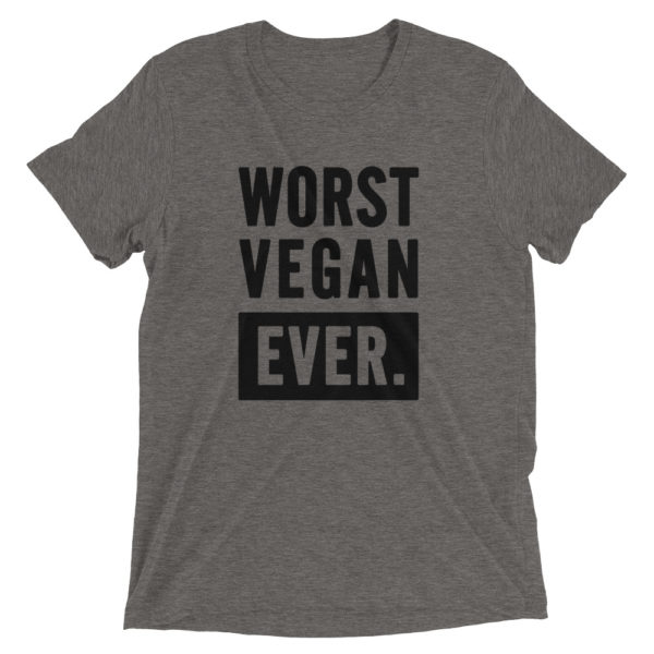 Worst vegan ever 1